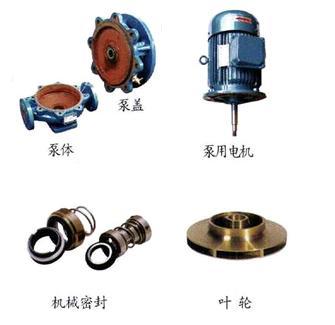 IRG热水管道泵结构图